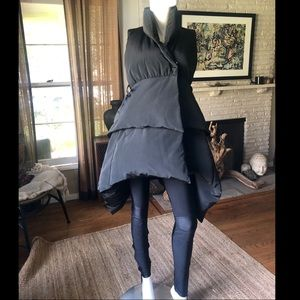 Thomas Wylde black Down Filled vest
